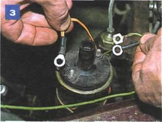 Схема подключения катушки фото ваз 2106